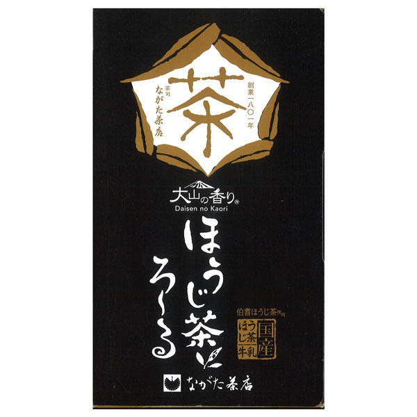 ロールケーキ 大山の香り純生ほうじ茶ろ〜る 長田茶店