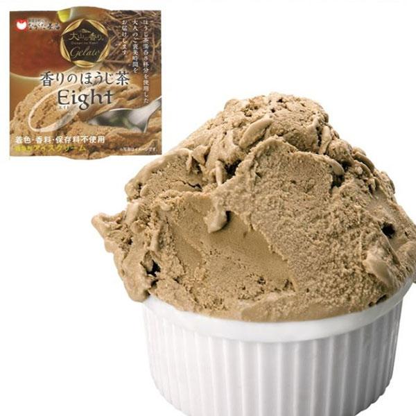アイスクリーム 大山の香り プレミアムジェラート 8個入 ほうじ茶 抹茶 長田茶店