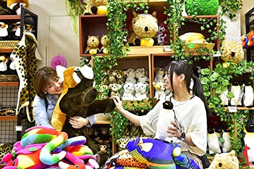 【特大ぬいぐるみ】 伊豆シャボテン動物公園 レッサーパンダ 相席 巨大 ぬいぐるみ 155cm