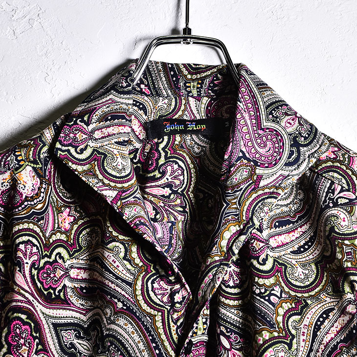 Paisley pattern shirt