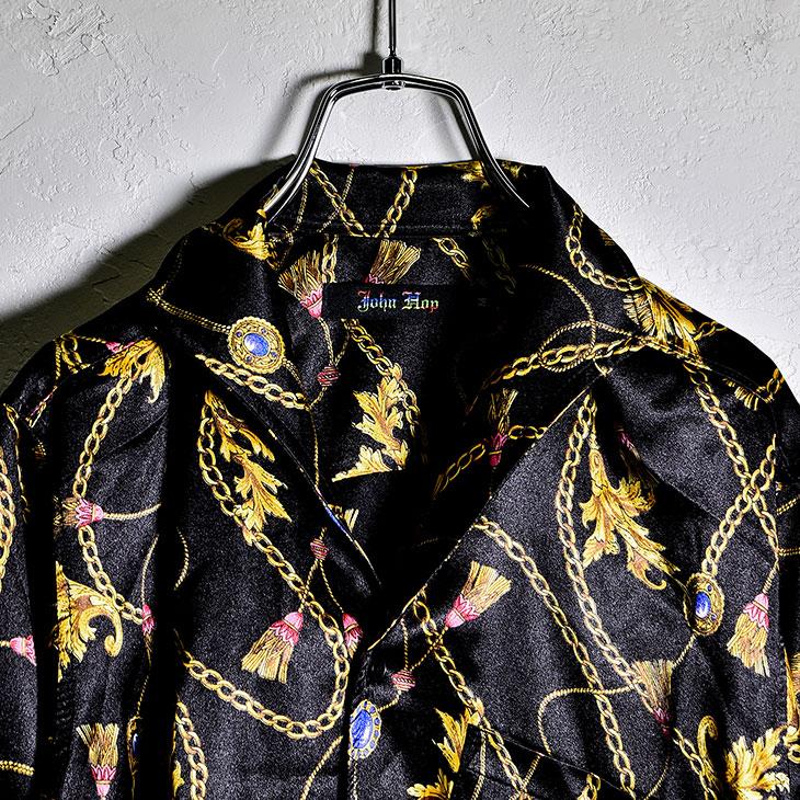 Chain pattern shirt