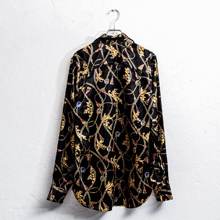 Chain pattern shirt