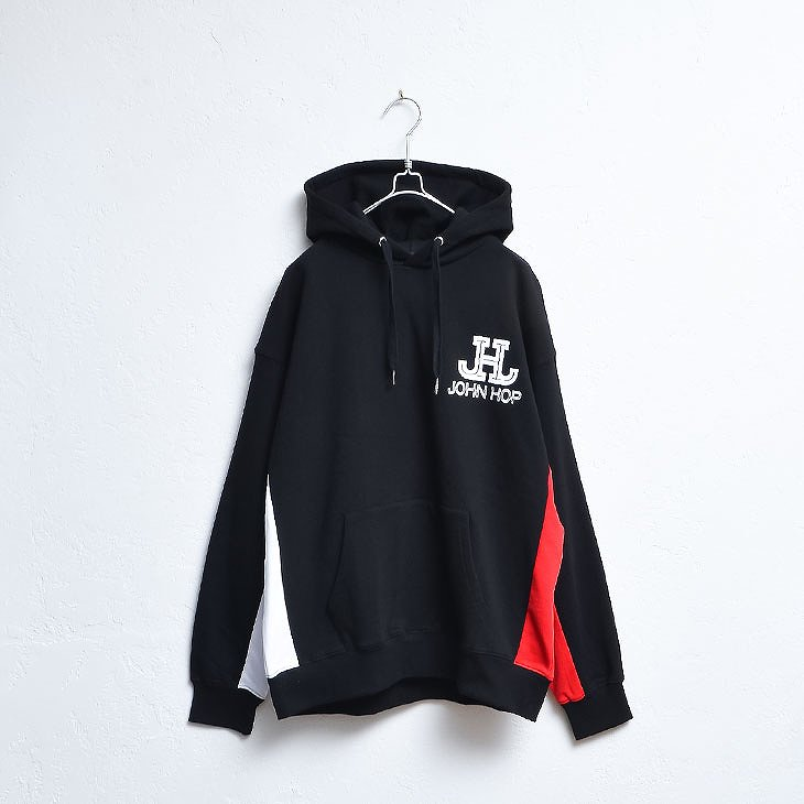 Side switching logo HOODIE