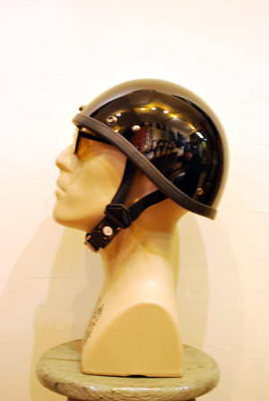 HELMET SMOKEY HI-GLOSS BLACK