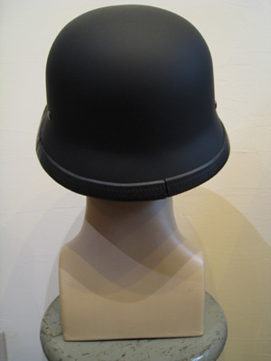 HELMET OUTLAWHEL DULL BLACK