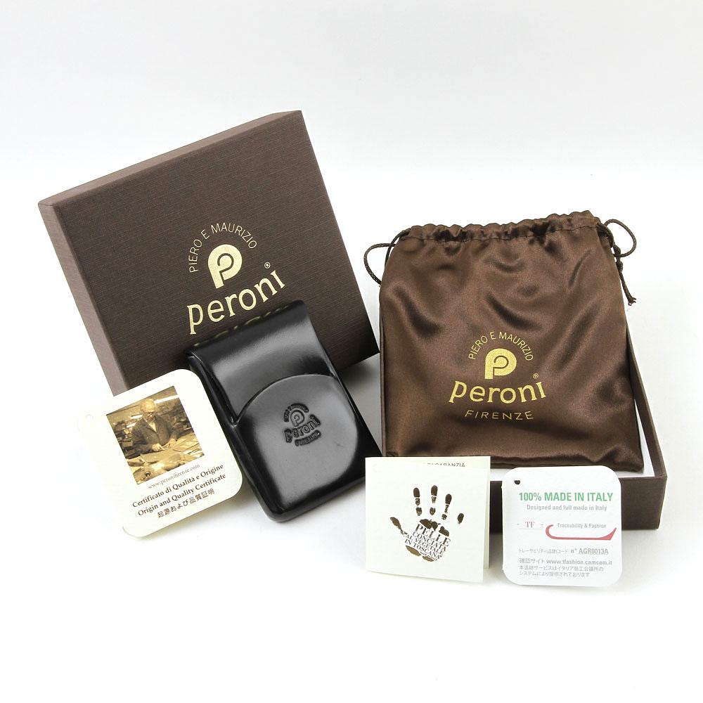 【正規輸入品】 Peroni Firenze ペローニ 名刺入れ カードケース メンズ レディース 本革 1249