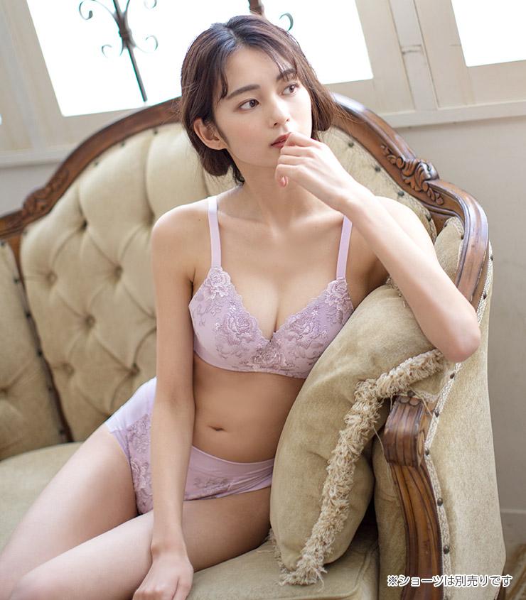 締め付け解消 ブラジャー ブラ【ワイヤー入り】 ジャコンヌ