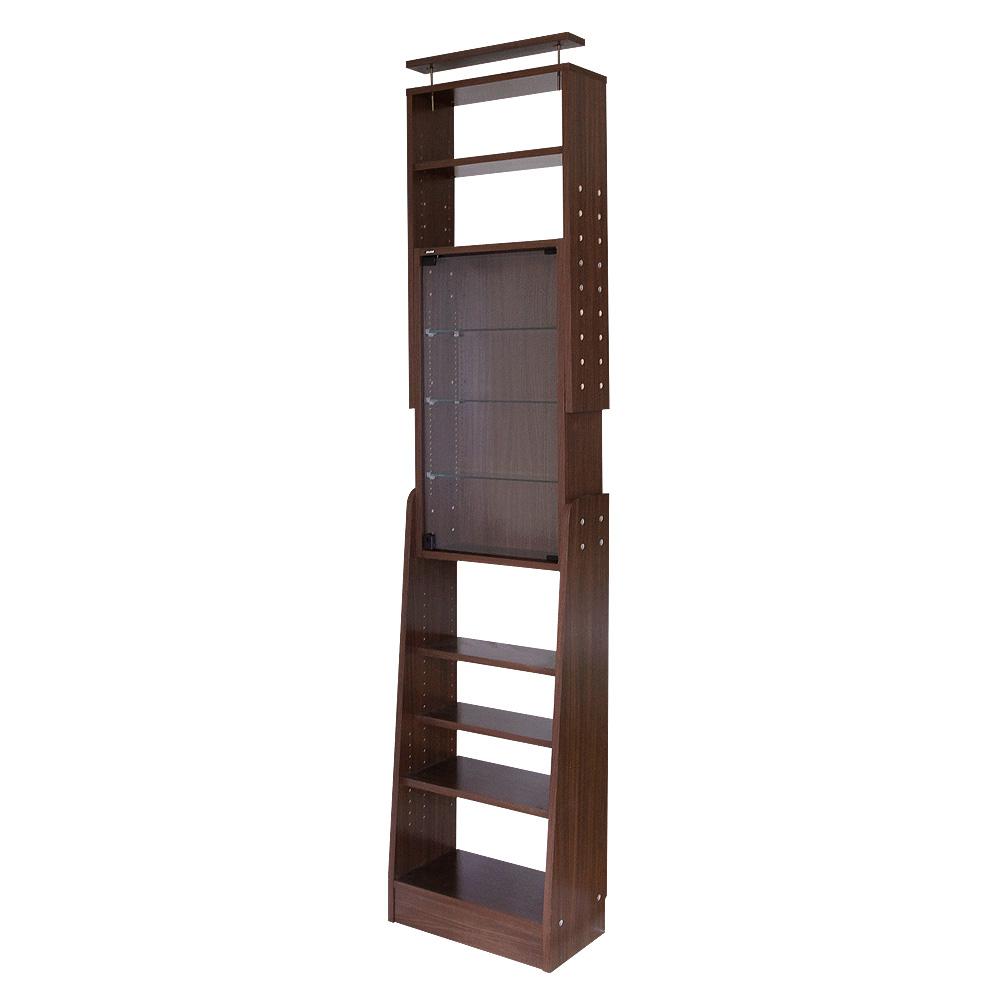 天井つっぱりコレクションラック 幅55cm×奥行29cm -サブカルラック-