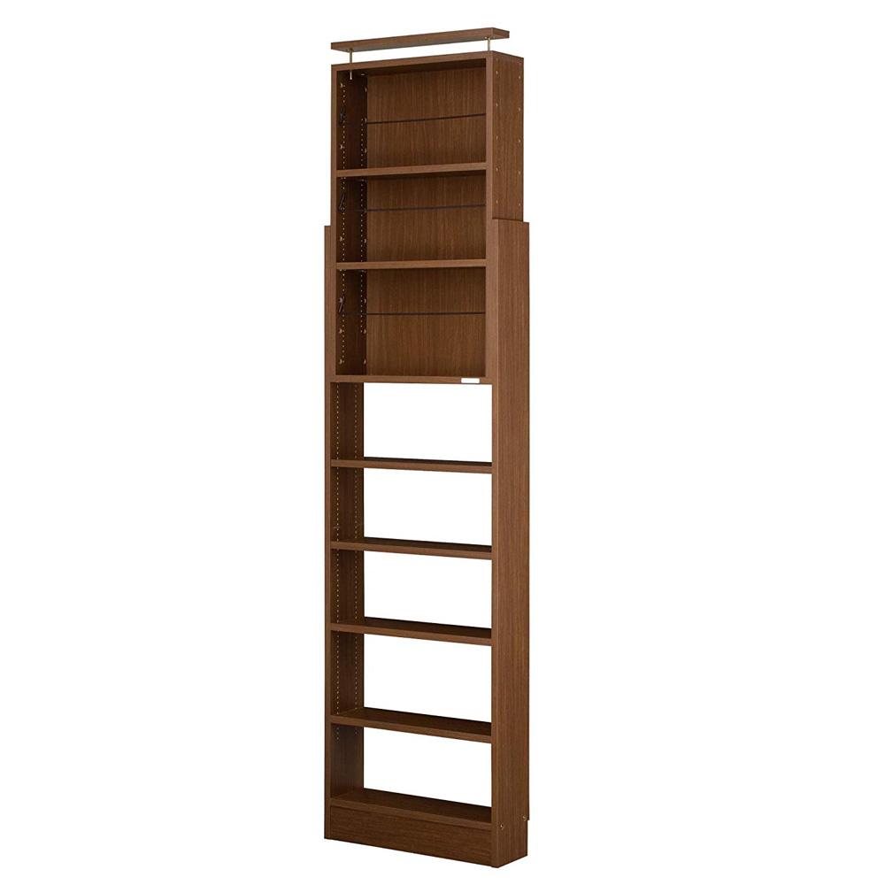 天井つっぱり本棚 愛書家 幅60cm×奥行17cm 天井つっぱり 地震対策 転倒防止 本棚・書棚