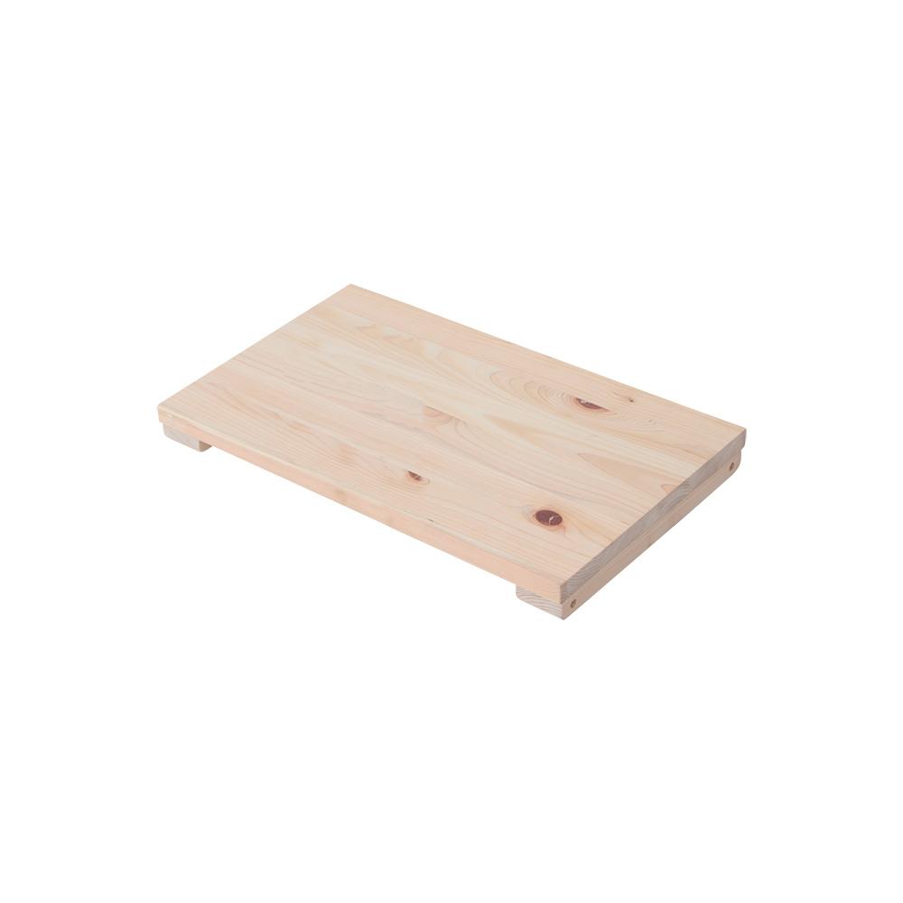専用オプション品 国産檜つっぱりシェルフラック マノン 追加棚 上段・下段用A 幅45.5cm×奥行28cm 書棚 収納棚 収納ラック 壁面収納・突っ張り壁面キャビネット