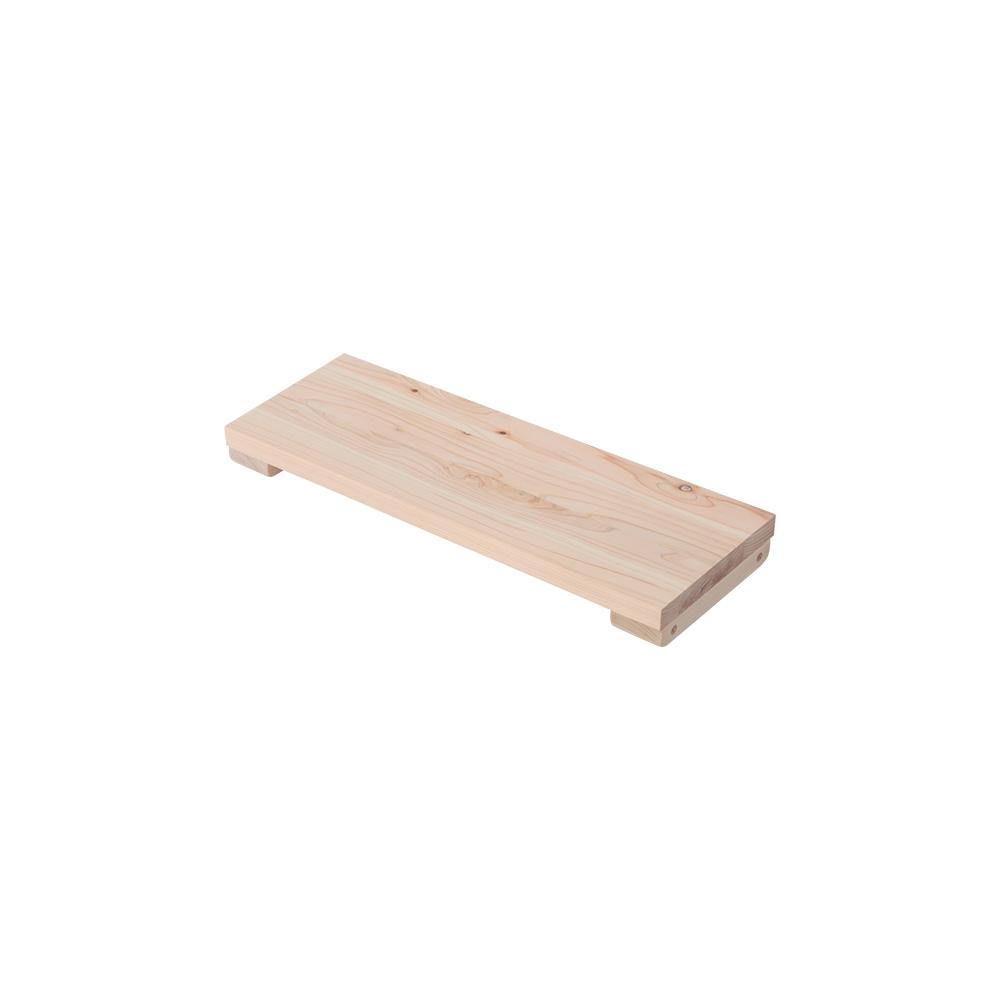 専用オプション品 国産檜つっぱりシェルフラック マノン 追加棚 上段・下段用A 幅45.5cm×奥行16cm 書棚 収納棚 収納ラック 壁面収納・突っ張り壁面キャビネット