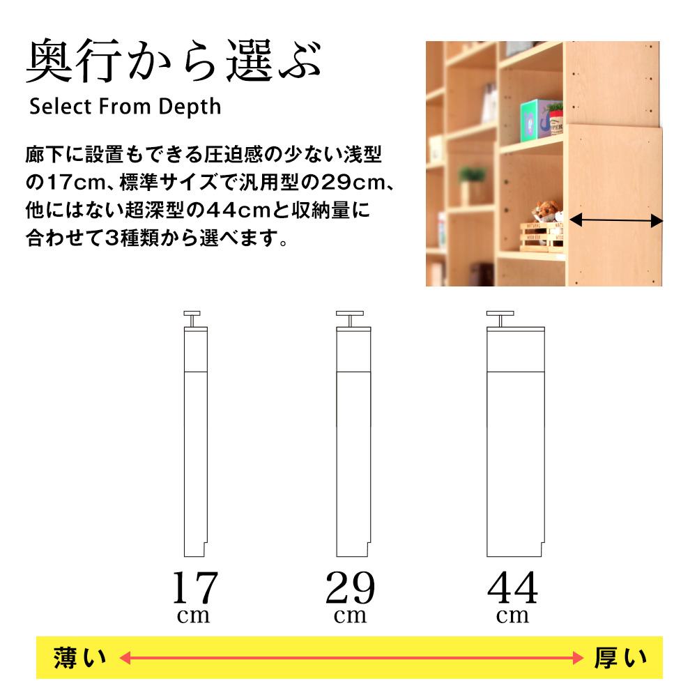 天井つっぱりラック TEN 幅60cm×奥行44cm 書棚 収納棚 収納ラック 壁面収納・突っ張り壁面キャビネット