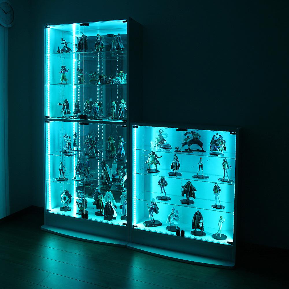 コレクションラック LED RGB モジュールセット ハイタイプ -フィギュアラック ザ サード-