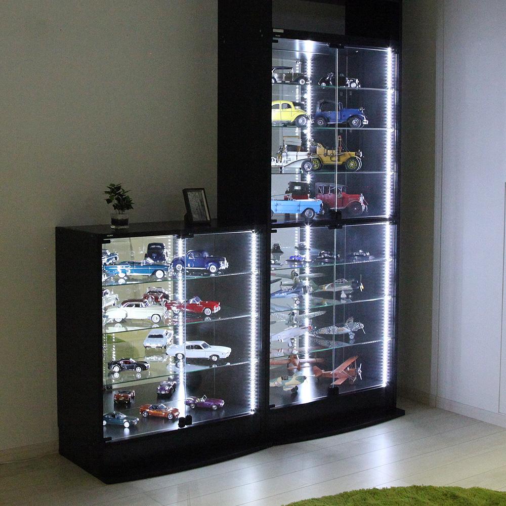 コレクションラック LED モジュールセット ロータイプ -フィギュアラック ザ サード-