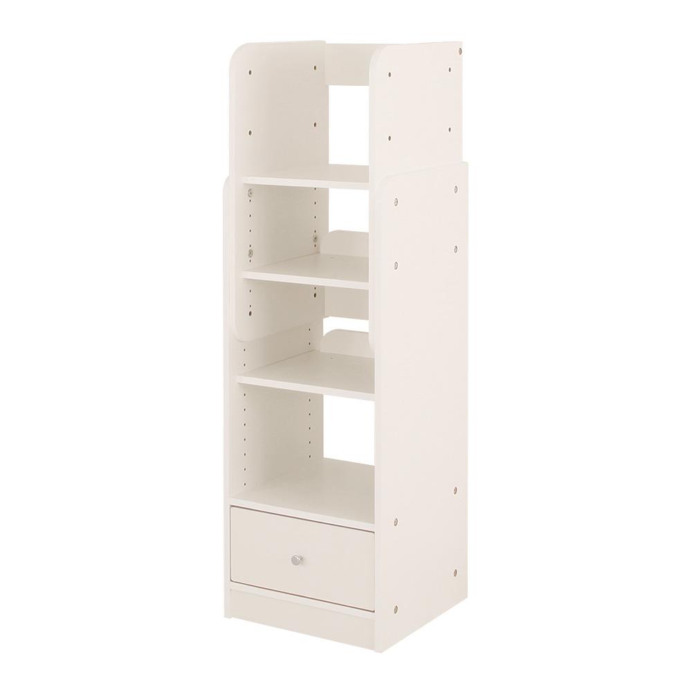高さ調節可能なキッズラック ランドセルラック ホワイト 幅36.4cm×奥行35cm ランドセル収納 子供部屋