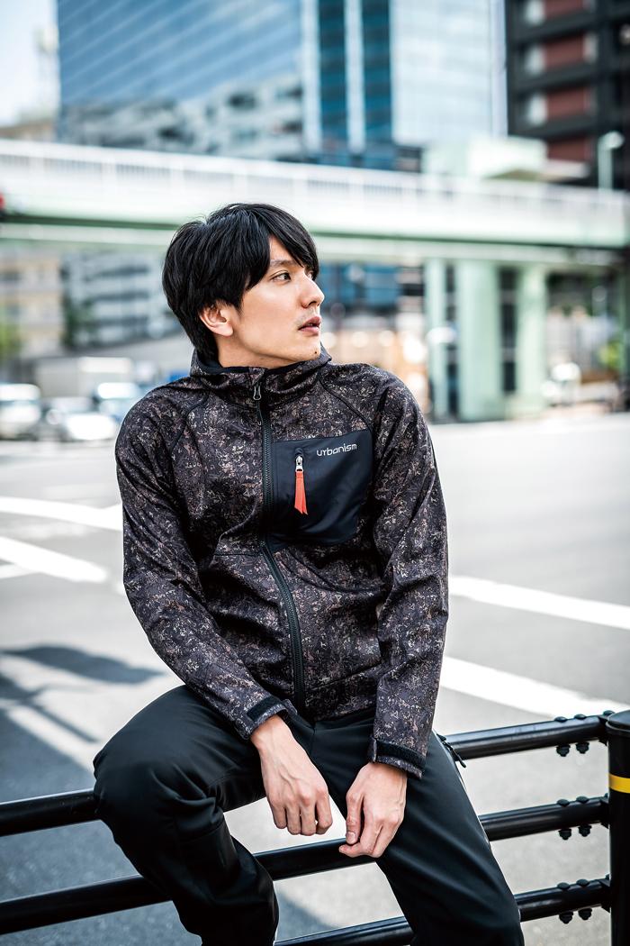 ソフトシェル防風パーカー【オールシーズン】
