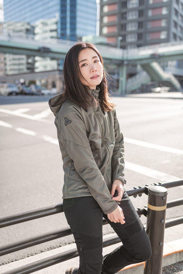 フードメッシュジャケット [FOR WOMEN]【2020 春夏】 urbanism UNJ-079W (レディース)
