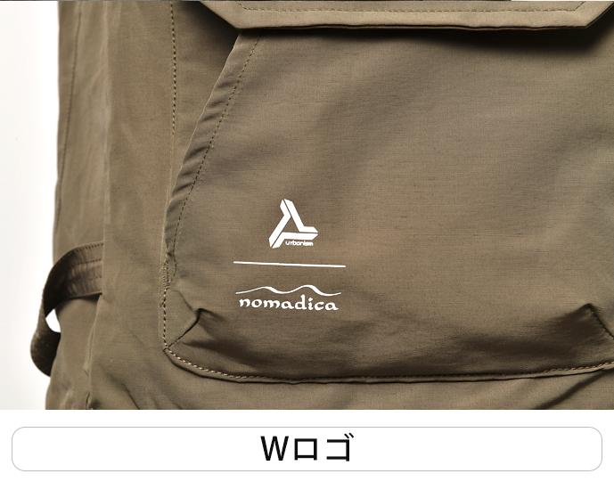 アーバニズム×ノマディカ60/40マウンテンパーカー 【2021 春夏】 urbanism×nomadica UNJ-097 (メンズ)
