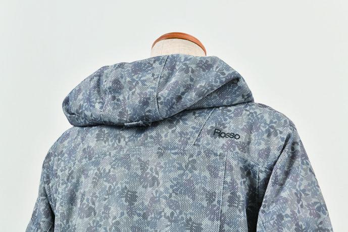 フーデッドメッシュジャケット【2020 春夏】 Rosso ROJ-89 (レディース)