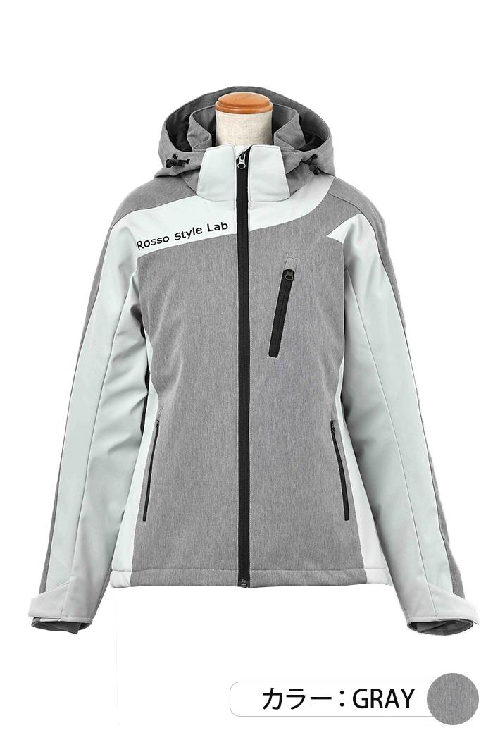 【入荷致しました!】ソフトシェルアクティブベントジャケット【2020-2021 秋冬】 Rosso ROJ-977 (レディース)