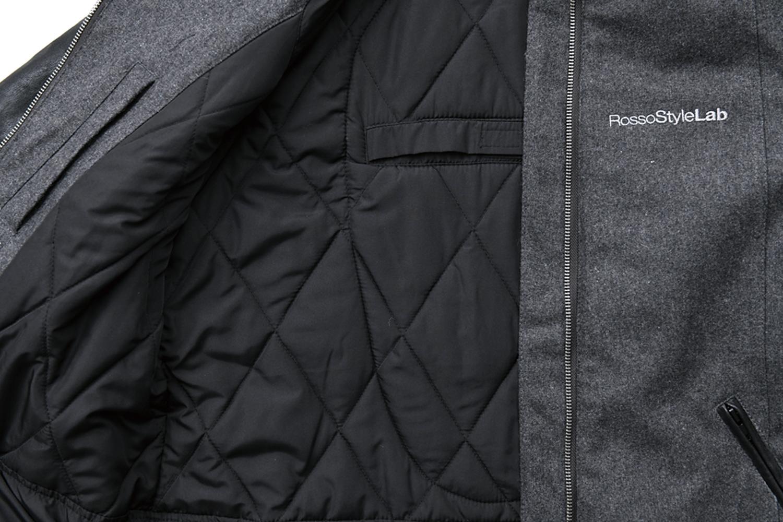 メルトンレザースリーブジャケット【2020-2021 秋冬】 Rosso ROJ-978 (レディース)
