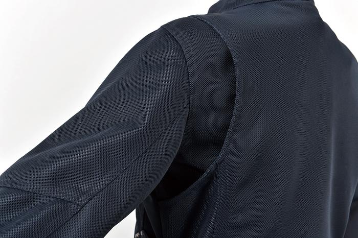 防風インナー付スタイルアップメッシュジャケット【2019 春夏】 Rosso ROJ-81 (レディース)
