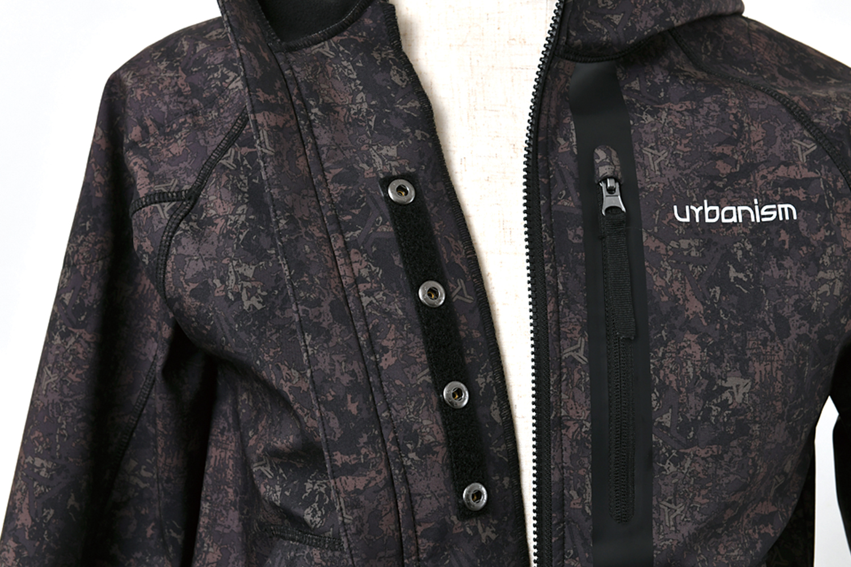 ソフトシェル防風パーカー【2020-2021 オールシーズン】 urbanism UNJ-088 (メンズ)