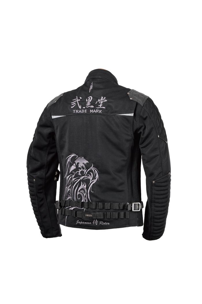 ハードライドミッドナイトジャケット『闇鴉』【2019 春夏】