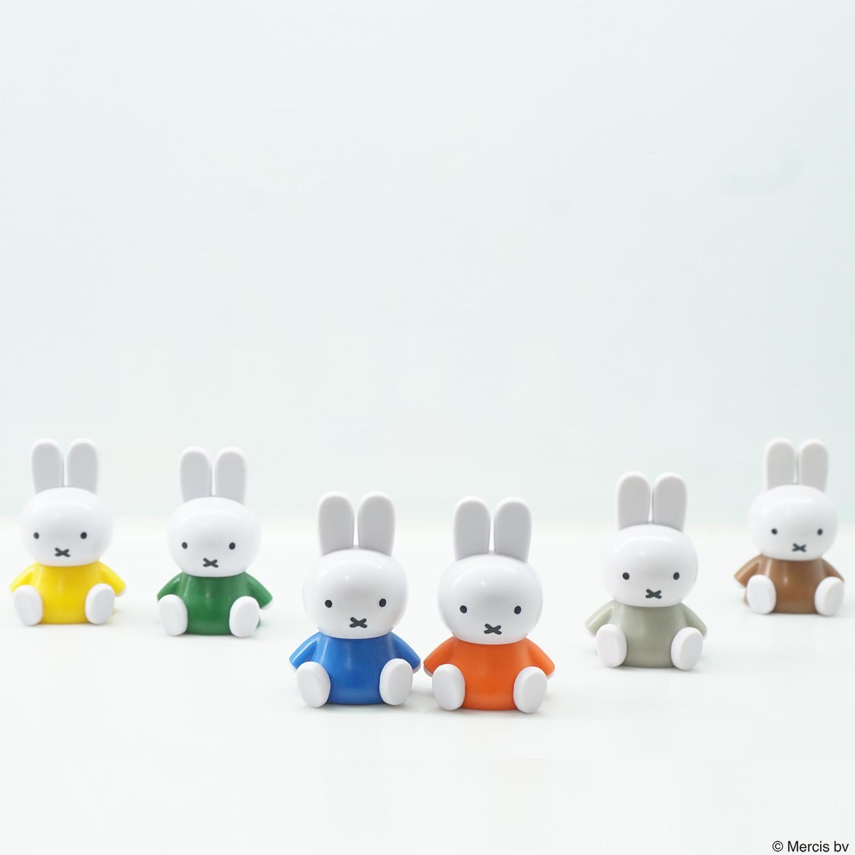 ミッフィ— テトラフィビッツ(座り スタンダード)12個セット (6カラー×2個)