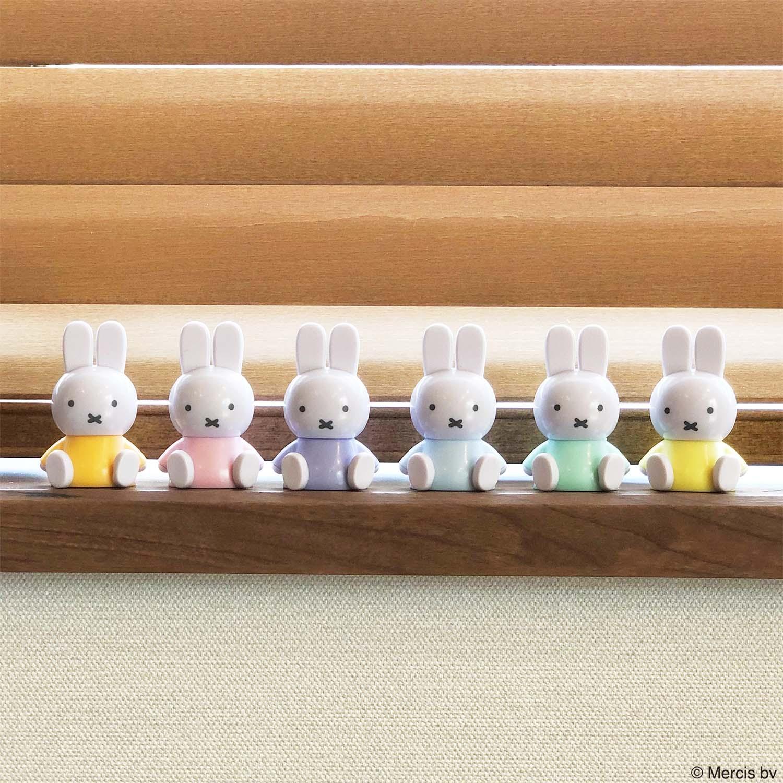 ミッフィ— テトラフィビッツ(座り パステル)12個セット (6カラー×2個)