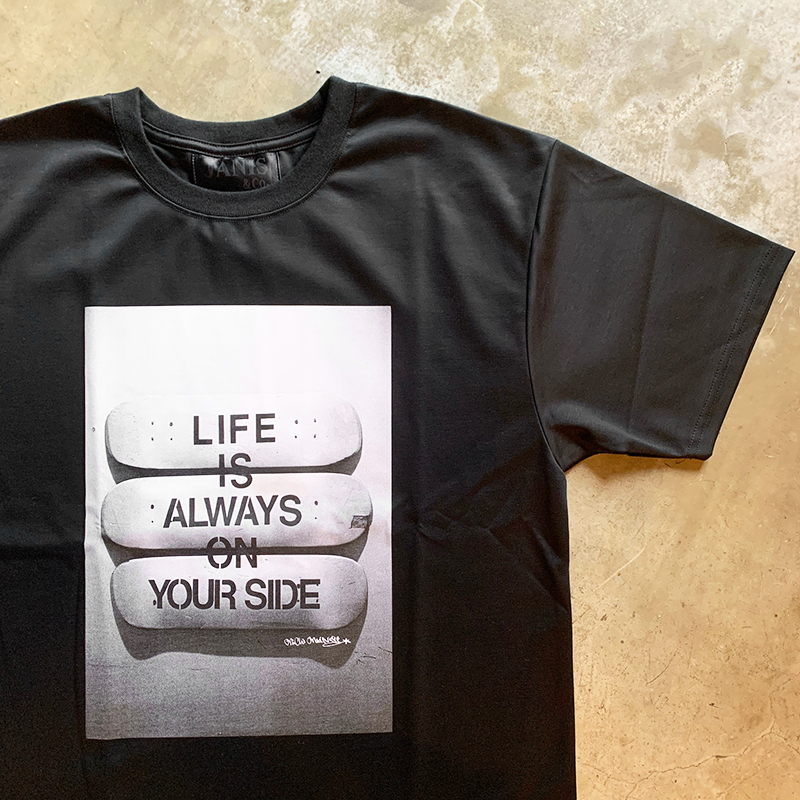 x MICHIMADNESS #LIFE IS... TEE