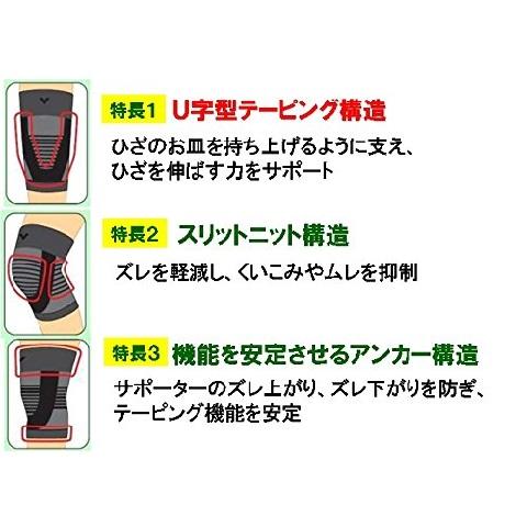 バンテリンサポーター ひざ専用【Mサイズ】2個セット