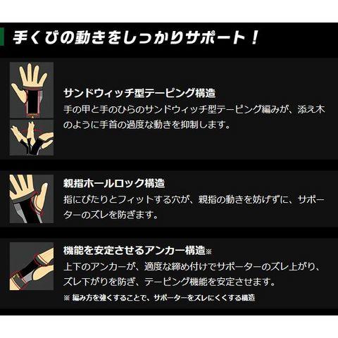 バンテリンサポーター 手首専用【Lサイズ】2個セット