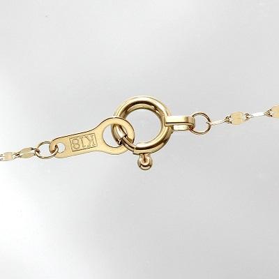 K18 3連デザインネックレス