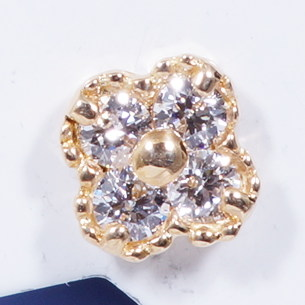 K18 ダイヤモンドピアス
