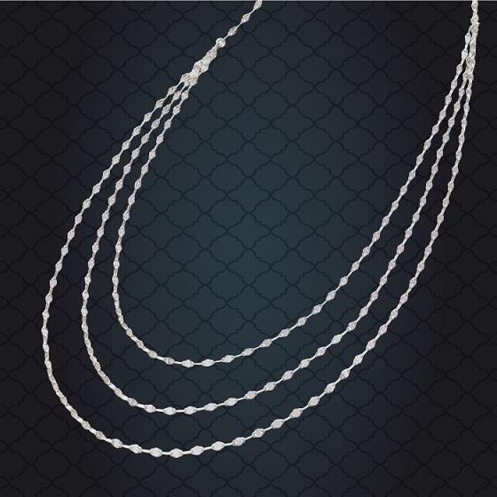 純プラチナデザインネックレス