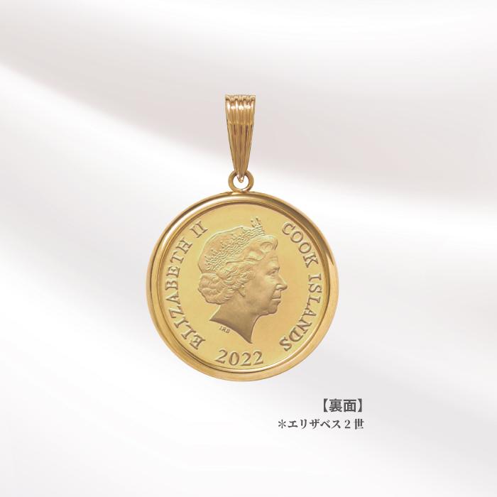 2021年『ピーターラビットTM』 1/30オンス純金金貨ペンダントDX