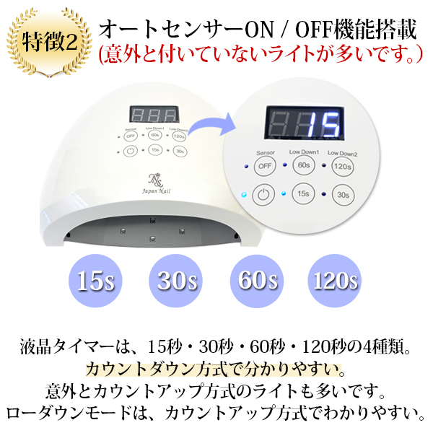 充電式LED38wに変更可能!日本製ジェルネイルキットジェルネイルセットトップベースコートカラージェル付n2【送料無料】