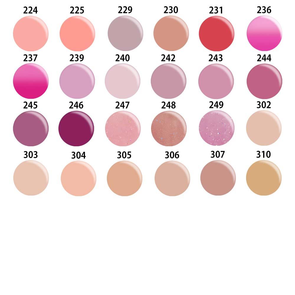 日本製カラージェルジャータイプとカラージェルボトルタイプが選べる。LEDUV