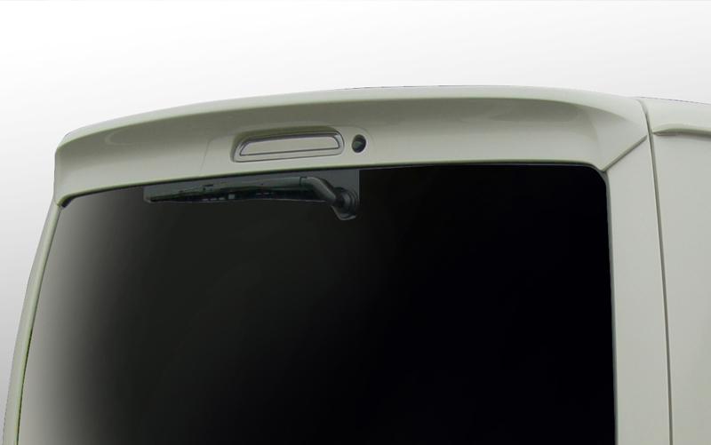 BLESS(ブレス) エアロパーツ 200系ハイエース/レジアスエース用 標準ルーフ用リヤスポイラー(FRP白ゲルコートタイプ)
