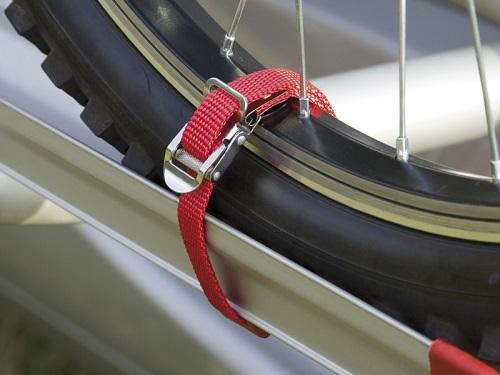 FIAMMA(フィアマ) キャリーバイク ストリップ 赤 2本組