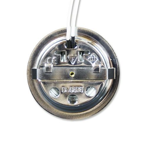 ハロゲン ダウンライト クローム 12V10W