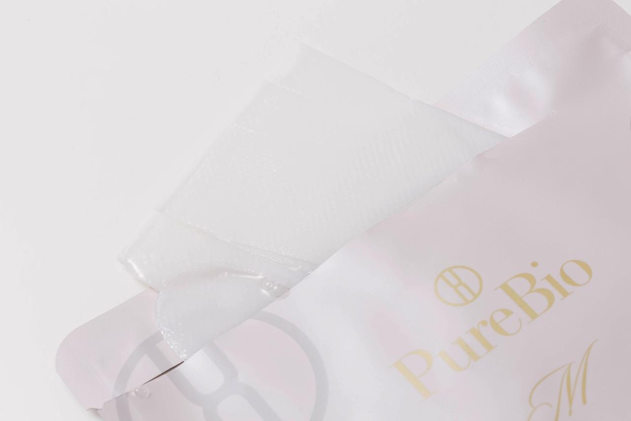 【Purebio M】ピュールビオ マスク30ml×4枚入