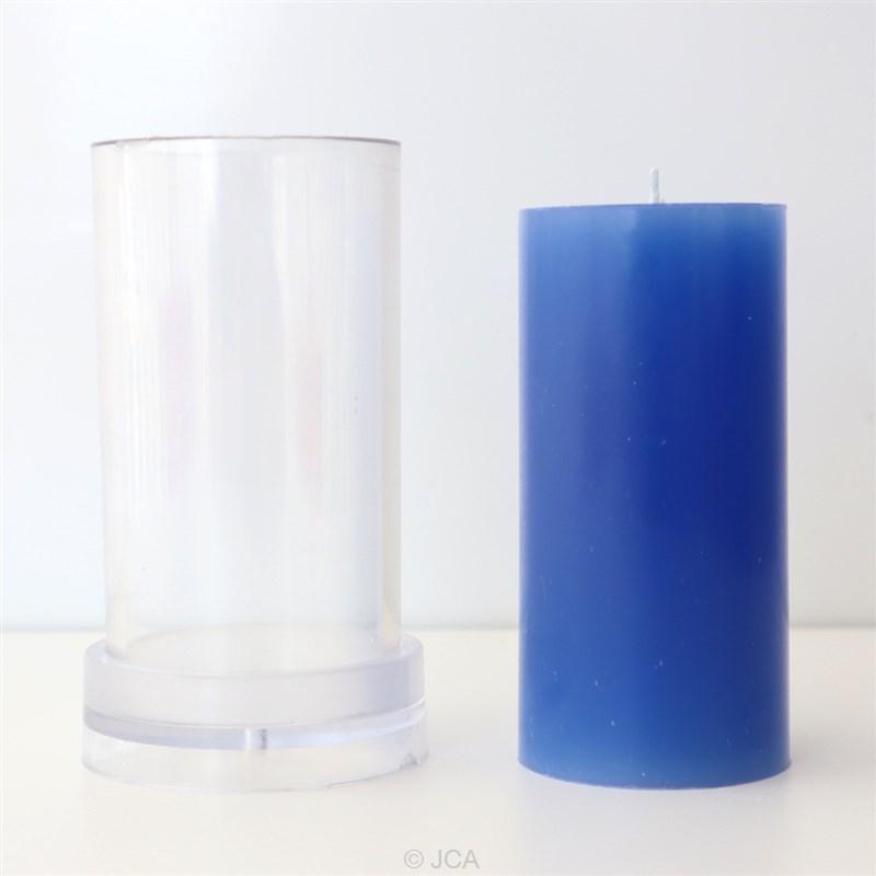 アクリル製モールド 円柱型 直径50mm×100mm