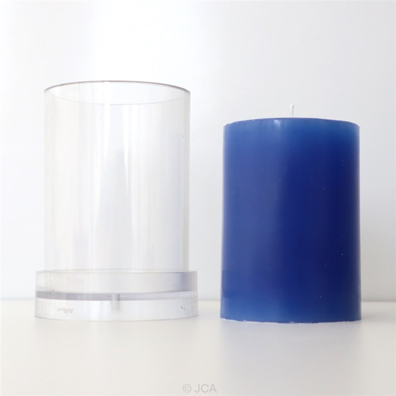 アクリル製モールド 円柱型 直径70mm×100mm