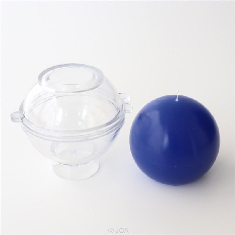 アクリル製モールド ボール型 直径75mm