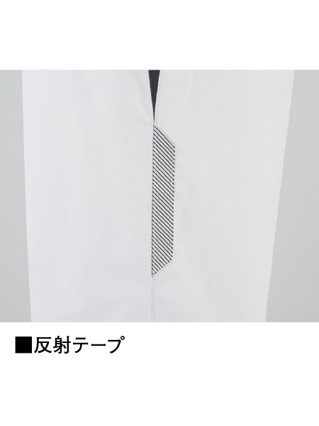 【JICHODO】 87401 抗ウイルス加工ノータックパンツ [2021年春夏]