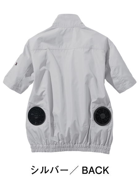 【Z-DRAGON】 74090 空調服(TM)半袖ブルゾン(ファン無し) [春夏]