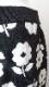 Skirt 花柄ジャガード 裾リボン付きのニットスカート