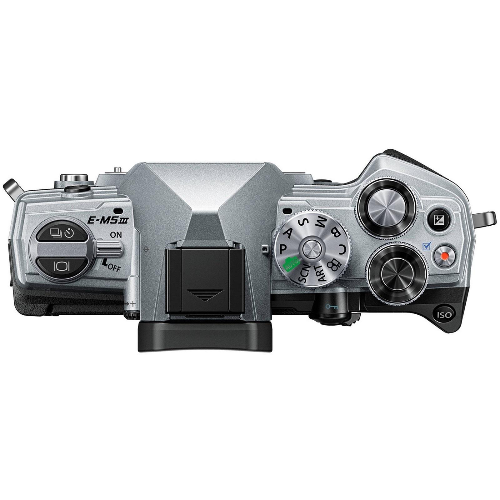OLYMPUS オリンパス ミラーレス一眼カメラ OM-D E-M5 MarkIII ボディー シルバー 新品
